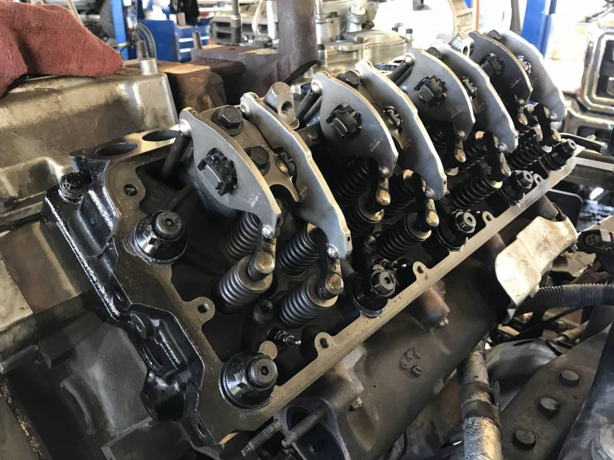 Ford 6 4l head studs