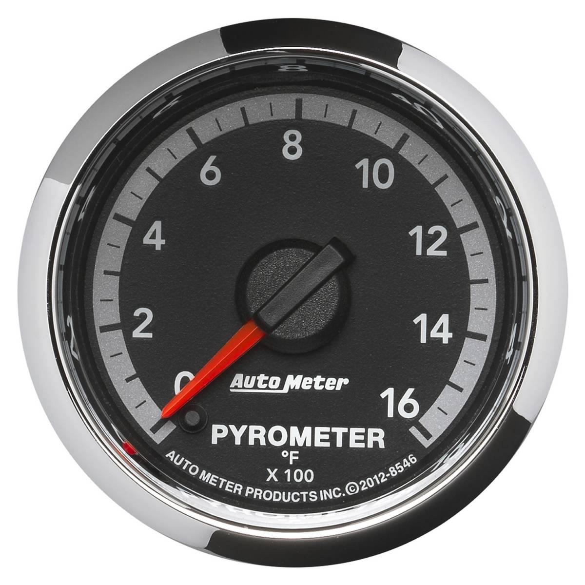 autometer 8546 gauge pyro egt 2 1 16in 1600deg f. Black Bedroom Furniture Sets. Home Design Ideas