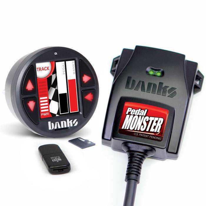 PedalMonster Kit Aptiv GT 150 6 Way With iDash 1.8 DataMonster Banks Power
