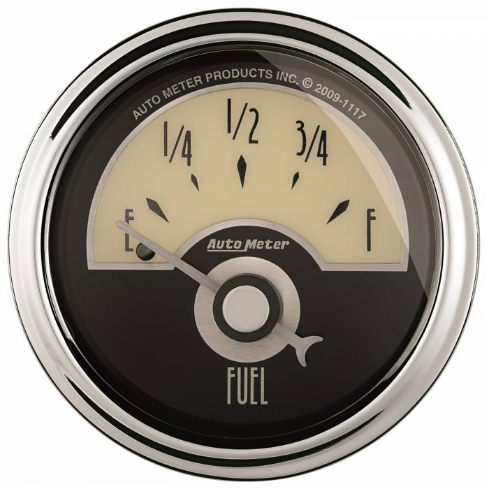 AutoMeter - AutoMeter Gauge; Fuel Level; 2 1/16in.; 240E to 33F; Elec; Cruiser AD 1107
