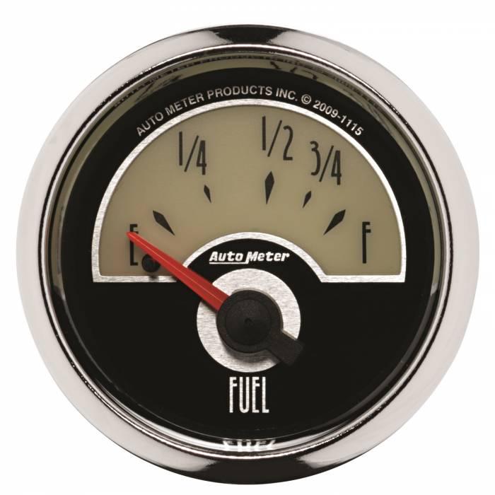 AutoMeter - AutoMeter Gauge; Fuel Level; 2 1/16in.; 73E to 10F; Elec; Cruiser 1115