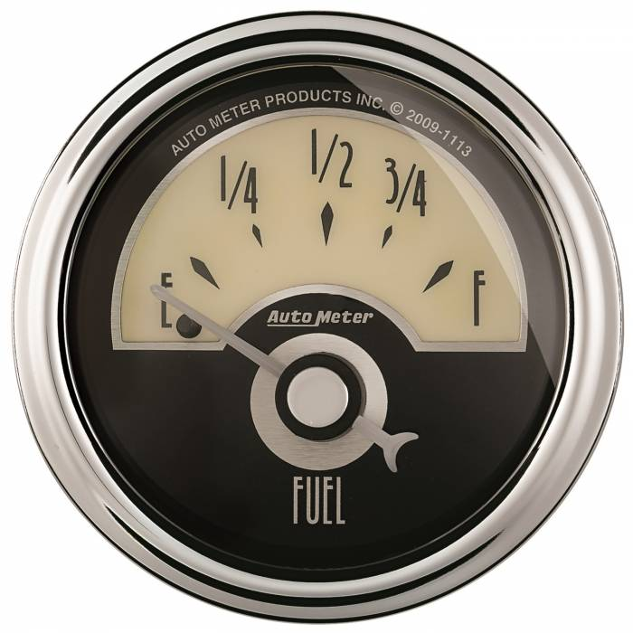 AutoMeter - AutoMeter Gauge; Fuel Level; 2 1/16in.; 0E to 90F; Elec; Cruiser AD 1104