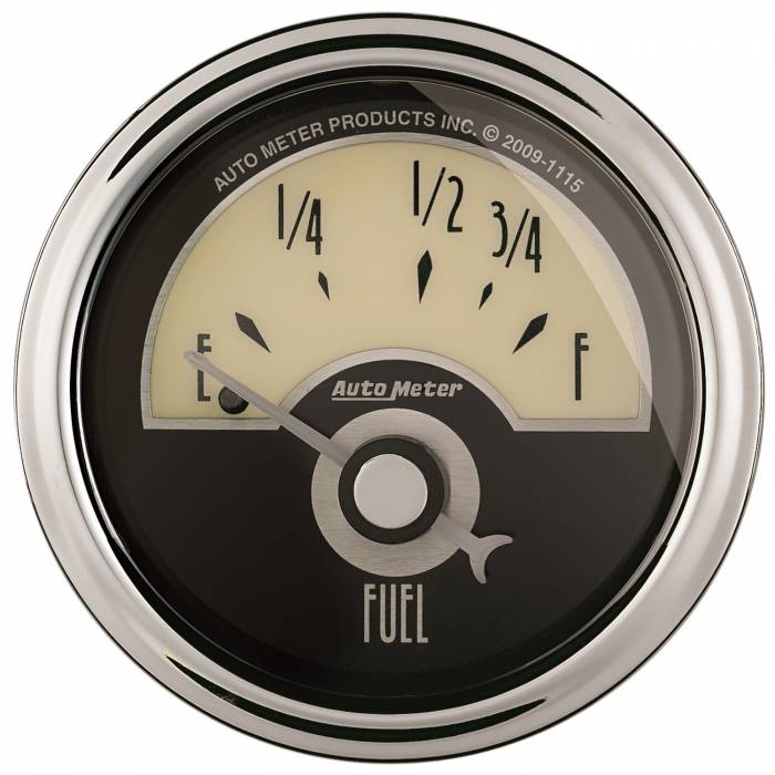 AutoMeter - AutoMeter Gauge; Fuel Level; 2 1/16in.; 73E to 10F; Elec; Cruiser AD 1105