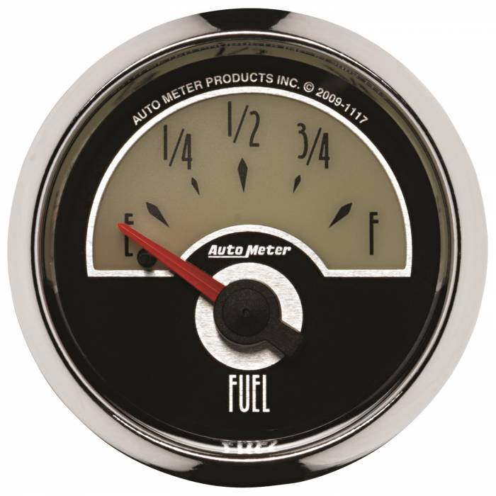 AutoMeter - AutoMeter Gauge; Fuel Level; 2 1/16in.; 240E to 33F; Elec; Cruiser 1117