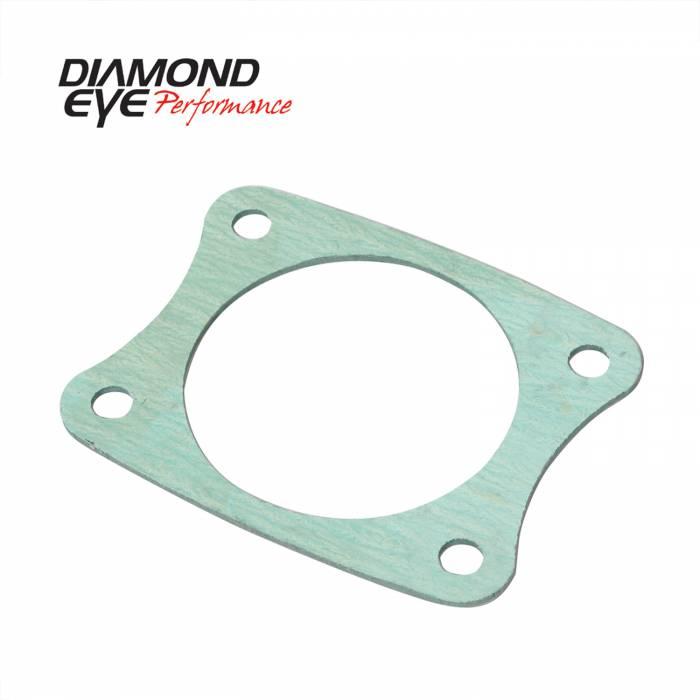 Diamond Eye Performance - Diamond Eye Performance PERFORMANCE DIESEL EXHAUST PART-HIGH TEMPURATURE EXHAUST GASKET FOR 4 BOLT ADAPT 4001