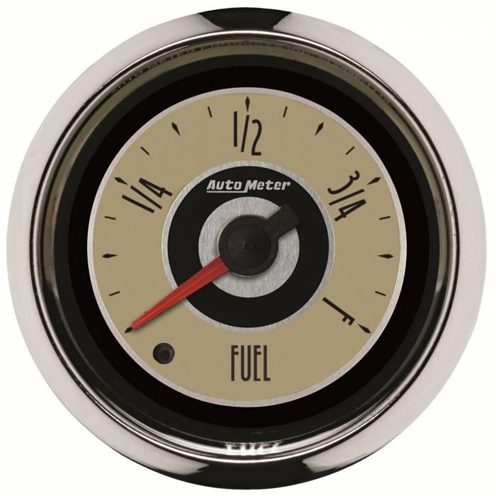 AutoMeter - AutoMeter Gauge; Fuel Level; 2 1/16in.; Programmable; Cruiser 1109