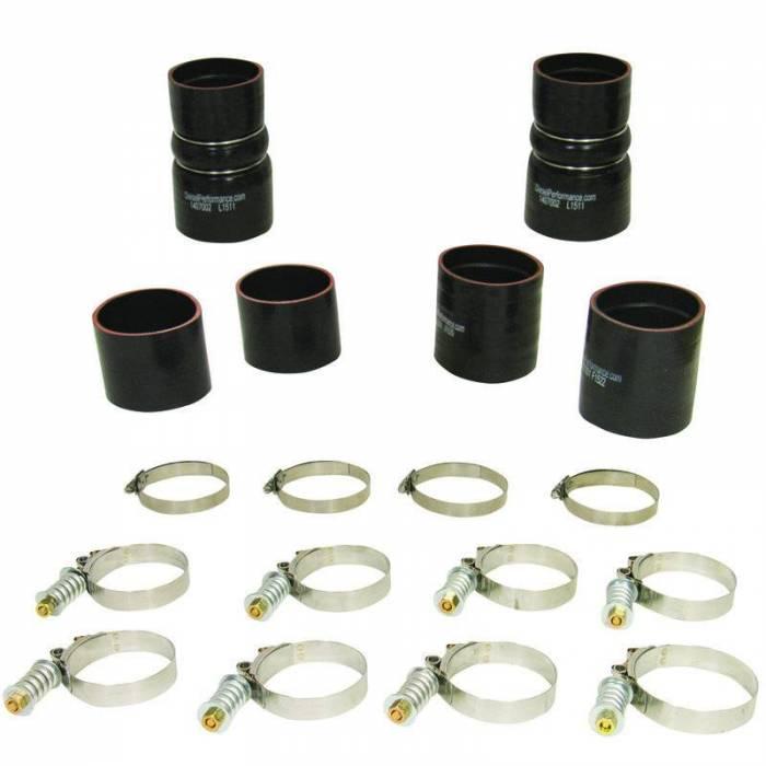 BD Diesel - BD Diesel Intercooler Hose & Clamp Kit - 1999.5-2003 Ford 7.3L PowerStroke 1047030