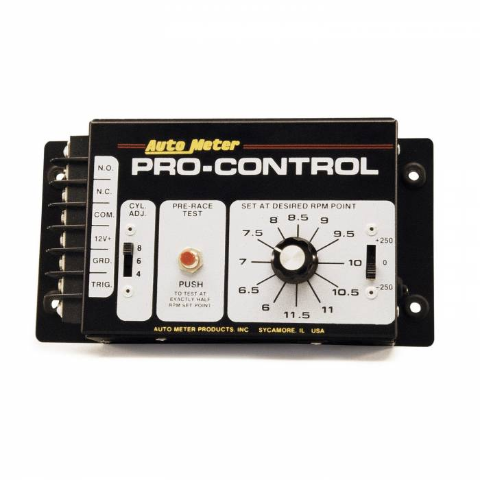 AutoMeter - AutoMeter RPM Switch/Rev-Limiter; Pro-Control; for Standard Ignition; Interrupter 5301