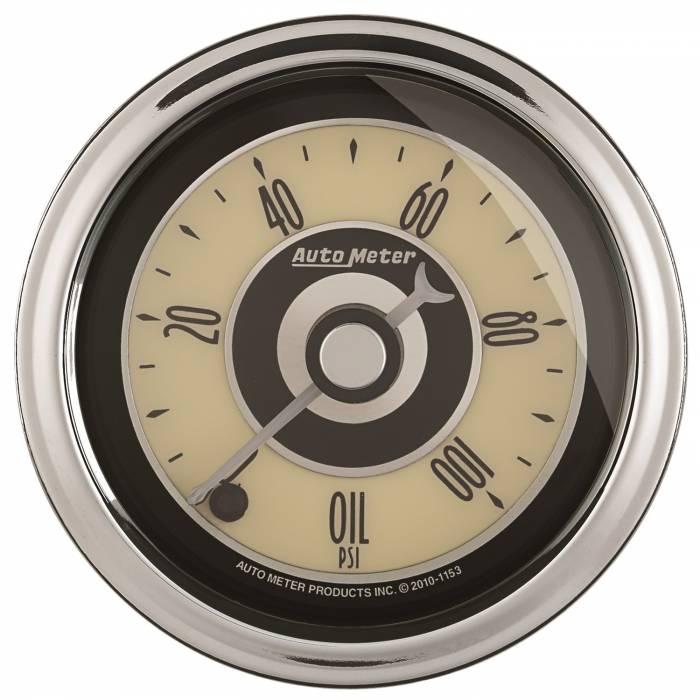 AutoMeter - AutoMeter Gauge; Oil Press; 2 1/16in.; 100psi; Digital Stepper Motor; Cruiser AD 1152