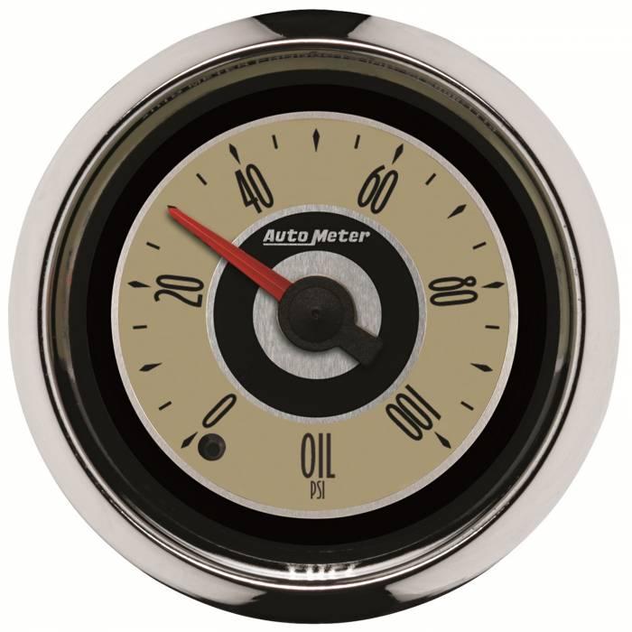 AutoMeter - AutoMeter Gauge; Oil Press; 2 1/16in.; 100psi; Digital Stepper Motor; Cruiser 1153