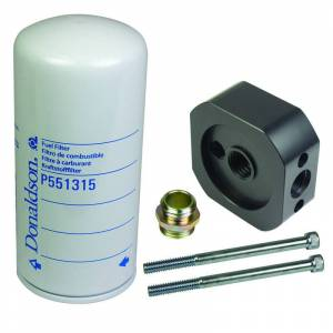 Engine & Performance - Fuel System - BD Diesel - BD Diesel Flow-MaX Add-On Post Fine Particle Fuel Filter Kit 1050340-PFF