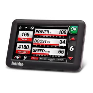 Banks Power Banks iDash 4.3 inch Monitor, Ecnmnd/SG-Tnr w/o T-Cpl - 61285