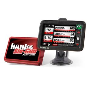 Engine & Performance - Programmers & Modules - Banks Power - Banks Power Six-Gun Diesel Tuner with Banks iDash 5 inch screen 63809