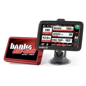 Engine & Performance - Programmers & Modules - Banks Power - Banks Power Six-Gun Diesel Tuner with Banks iDash 5 inch screen 63859