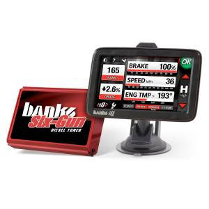 Engine & Performance - Programmers & Modules - Banks Power - Banks Power Six-Gun Diesel Tuner with Banks iDash 5 inch screen 63899