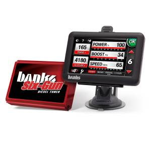 Engine & Performance - Programmers & Modules - Banks Power - Banks Power Six-Gun Diesel Tuner, Power System with Banks iDash 4.3 inch screen 63925