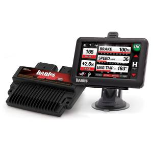 Engine & Performance - Programmers & Modules - Banks Power - Banks Power Six-Gun Diesel Tuner, Power System with Banks iDash 4.3 inch screen 63940