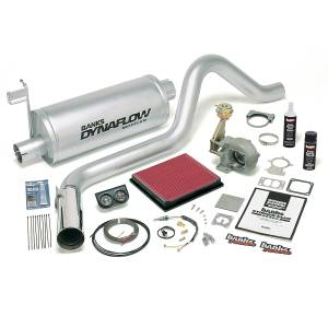 Dodge Cummins - 1998.5-2002 Dodge 5.9L 24V Cummins - Banks Power - Banks Power Stinger Bundle, Power System with Single Exit Exhaust, Chrome Tip 49276