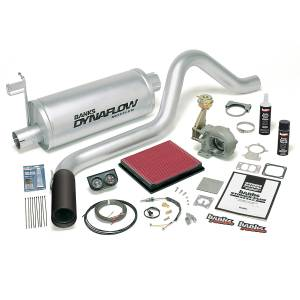 Dodge Cummins - 1998.5-2002 Dodge 5.9L 24V Cummins - Banks Power - Banks Power Stinger Bundle, Power System with Single Exit Exhaust, Black Tip 49276-B