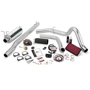 1999-2003 Ford 7.3L Powerstroke - Performance Bundles - Banks Power - Banks Power Stinger Bundle, Power System with Single Exit Exhaust, Black Tip 47553-B