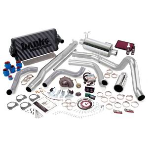 1999-2003 Ford 7.3L Powerstroke - Performance Bundles - Banks Power - Banks Power PowerPack Bundle, Complete Power System with Single Exit Exhaust, Chrome Tip 47573