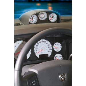 Interior Accessories - Gauges & Pods - AutoMeter - AutoMeter Gauge Mount; Dash Top; Triple; 2 1/16in.; Dodge Ram 03-09 15020