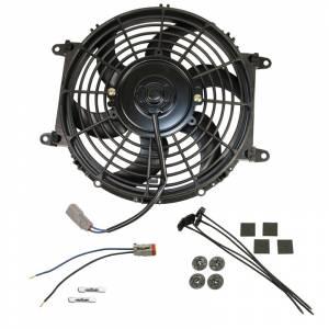 BD Diesel Universal Electric Cooling Fan Kit - 80-watt 10-inch 800 CFM 1030607