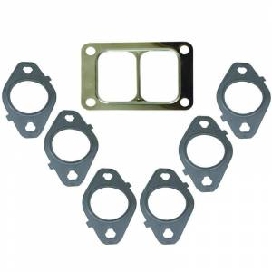 Engine & Performance - Exhaust Manifolds - BD Diesel - BD Diesel Gasket Set, Exhaust Manifold T6 Mount - Dodge 1998.5-2014 5.9L/6.7L 1045986-T6
