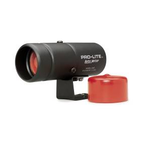 Exterior Accessories - Lighting - AutoMeter - AutoMeter Warning Light; Black Pro-Lite; Incl. red lens/night cover 3240