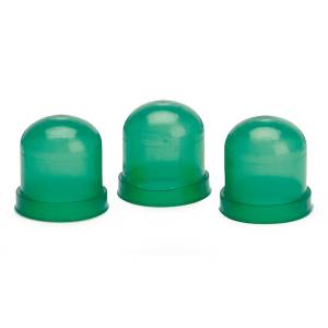 Interior Accessories - Floor Liners - AutoMeter - AutoMeter Light Bulb Boots; Green; qty. 3 3215