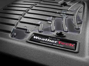 WEATHERTECH Black Front and Rear Floorliners - Image 2
