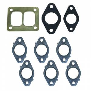 Engine & Performance - Exhaust Manifolds - BD Diesel - BD Diesel GASKET SET, Exhaust Manifold w/T4 Flange - Dodge 6.7L 2007.5-2017 1045992-T4