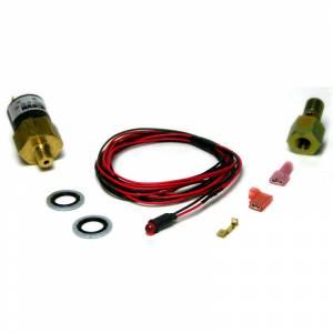 1998.5-2002 Dodge 5.9L 24V Cummins - Air/Fuel - BD Diesel - BD Diesel Low Fuel Pressure Alarm Kit, Red LED - 1998-2007 Dodge 24-valve 1081130