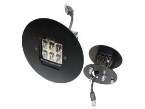 Exterior Accessories - Lighting - Rigid Industries - Rigid Industries GMC 2500/3500 2011-13 Fog Light Mount Kit - Pair Dually/D2 46508