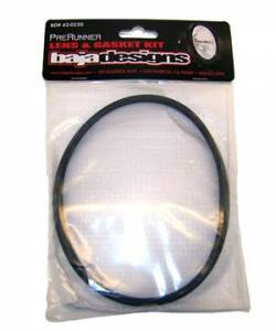 Baja Designs - Lens and Gasket Kit For 6 Inch PreRunner Rock Guard Black Baja Designs