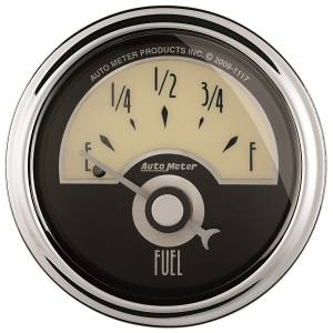 AutoMeter - AutoMeter Gauge; Fuel Level; 2 1/16in.; 240E to 33F; Elec; Cruiser AD 1107 - Image 1