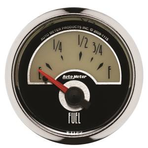 AutoMeter - AutoMeter Gauge; Fuel Level; 2 1/16in.; 73E to 10F; Elec; Cruiser 1115 - Image 1