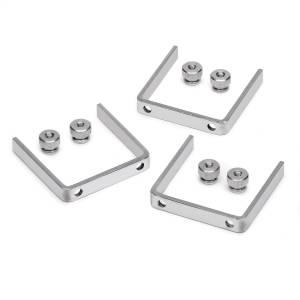 Accessories - Gauges & Pods - AutoMeter - AutoMeter Gauge Bracket Kit; 2 1/16in.; aluminum; qty 3 2225