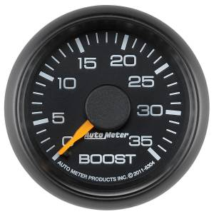 AutoMeter - AutoMeter Gauge; Boost; 2 1/16in.; 35psi; Mechanical; GM Factory Match 8304