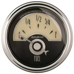 AutoMeter - AutoMeter Gauge; Fuel Level; 2 1/16in.; 0E to 90F; Elec; Cruiser AD 1104 - Image 1
