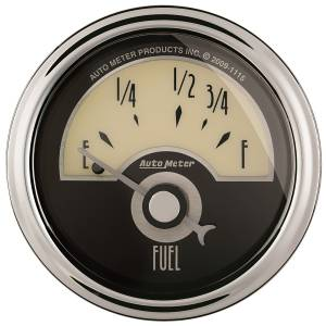 AutoMeter - AutoMeter Gauge; Fuel Level; 2 1/16in.; 73E to 10F; Elec; Cruiser AD 1105 - Image 1