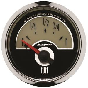AutoMeter - AutoMeter Gauge; Fuel Level; 2 1/16in.; 0E to 90F; Elec; Cruiser 1113 - Image 1