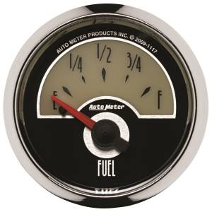 AutoMeter - AutoMeter Gauge; Fuel Level; 2 1/16in.; 240E to 33F; Elec; Cruiser 1117 - Image 1