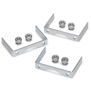 Accessories - Gauges & Pods - AutoMeter - AutoMeter Gauge Bracket Kit; 2 5/8in.; aluminum; qty 3 2226