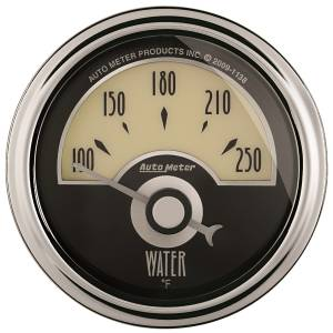 AutoMeter - AutoMeter Gauge; Water Temp; 2 1/16in.; 250deg. F; Elec; Cruiser AD 1136 - Image 1