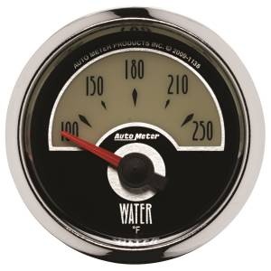 AutoMeter - AutoMeter Gauge; Water Temp; 2 1/16in.; 250deg. F; Elec; Cruiser 1138 - Image 1