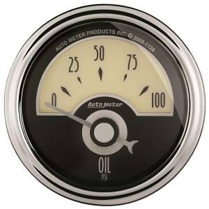 AutoMeter - AutoMeter Gauge; Oil Press; 2 1/16in.; 100psi; Elec; Cruiser AD 1126 - Image 1