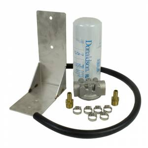 Engine & Performance - Fuel System - BD Diesel - BD Diesel Remote Fuel Filter Kit - 2001-2012 Chevy Duramax 1050060