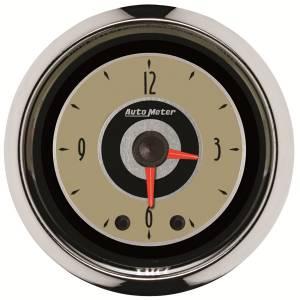AutoMeter - AutoMeter Gauge; Clock; 2 1/16in.; 12Hr; Analog; Cruiser 1185 - Image 1