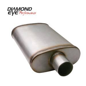 Engine & Performance - Exhaust Parts - Diamond Eye Performance - Diamond Eye Performance PERFORMANCE DIESEL EXHAUST PART-3.5in. 409 STAINLESS STEEL PERFORMANCE PERFORATE 360010
